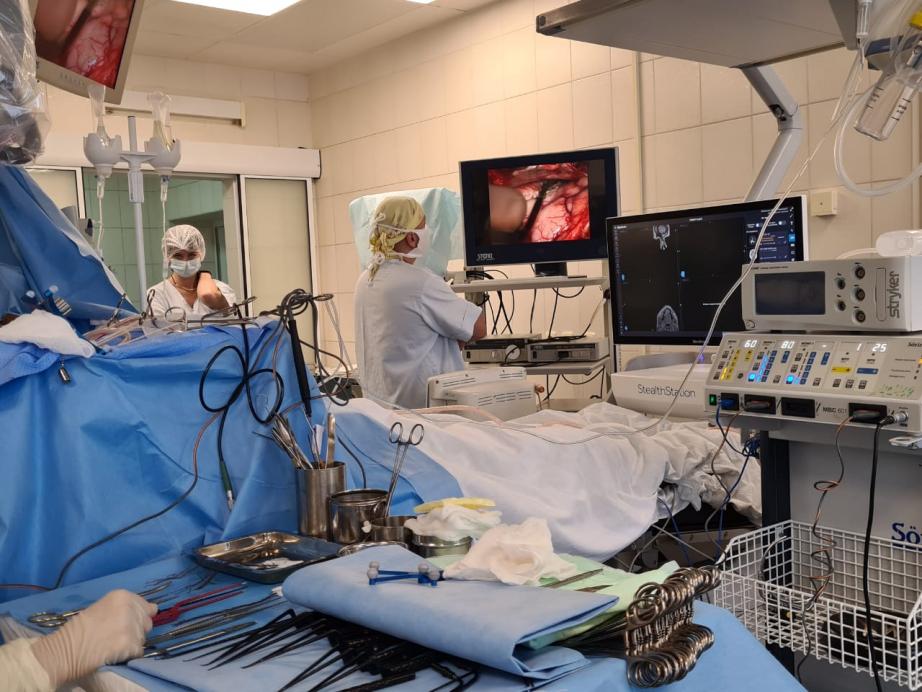 Операцию на мозге пациента с эпилепсией впервые провели в Хабаровске