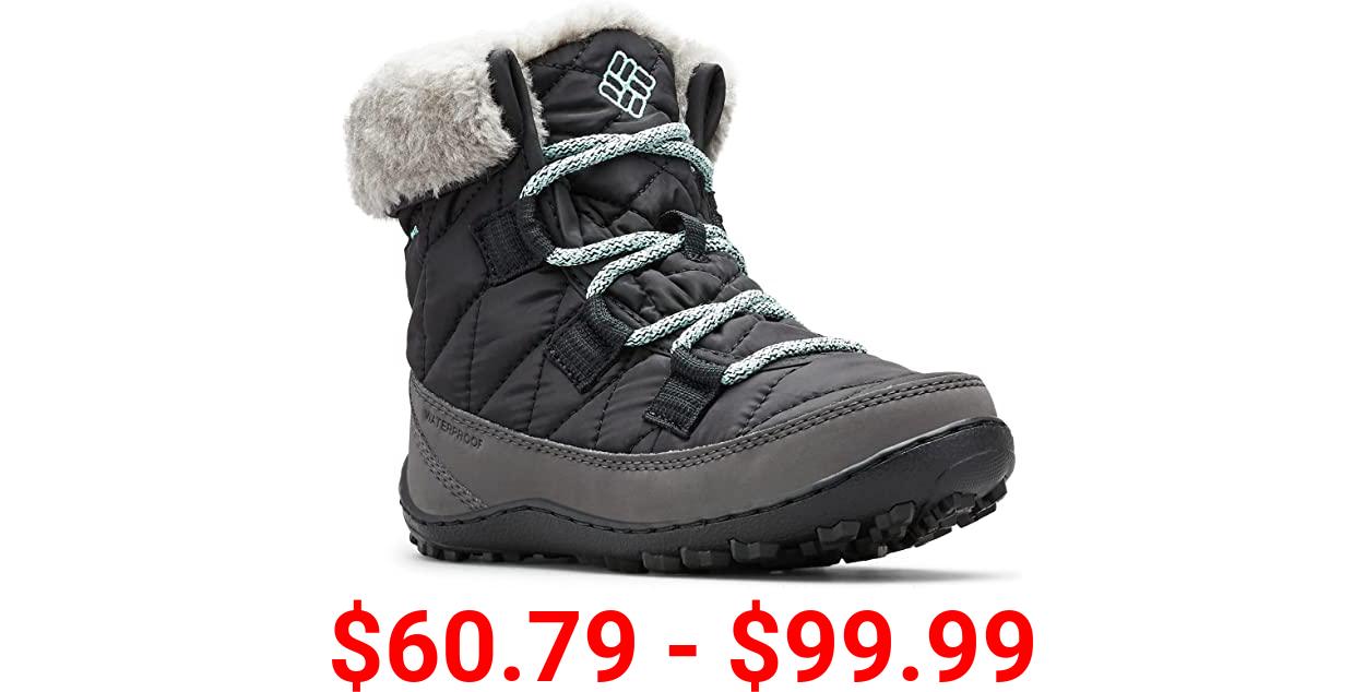 Columbia Youth Minx Shorty Omni-Heat Waterproof-K Snow Boot