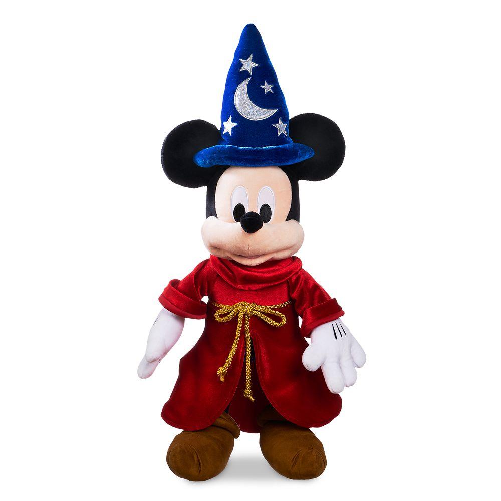 Sorcerer Mickey Mouse Plush – Medium