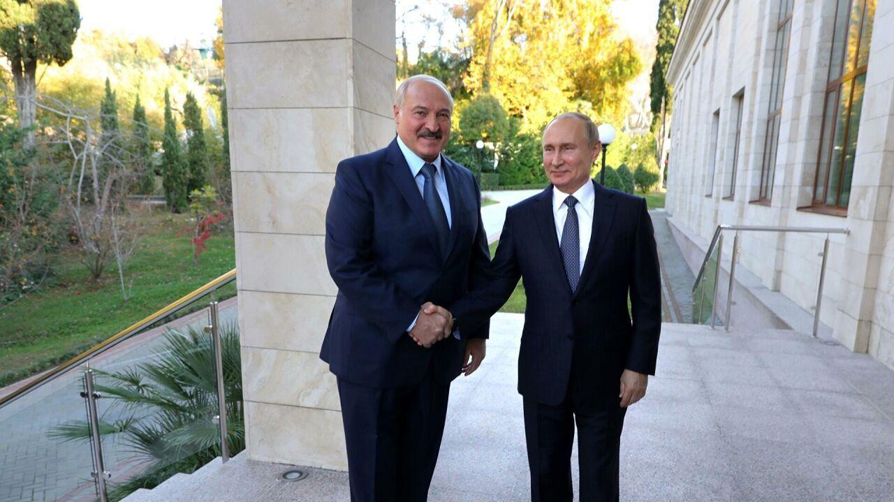 Путин и Лукашенко подписали 28 союзных программ