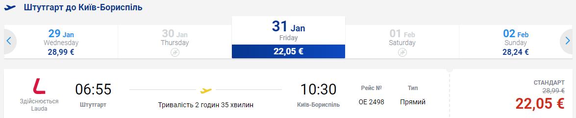Из Киева в Германию и Тенерифе в две стороны всего за €97! Январь 8