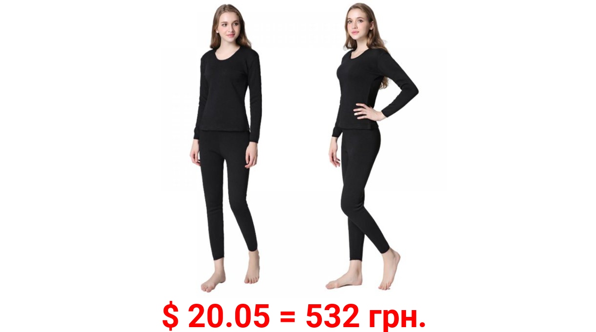Clearance!Winter Thermal Underwear Ladies Clothes Winter Seamless Antibacterial Warm Intimates Women Shaped Sets