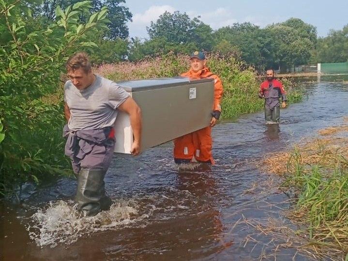 В Хабаровском крае продолжаются работы по минимизации последствий приближающегося гребня паводка