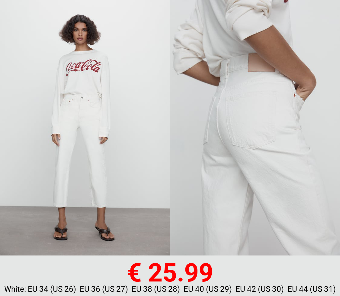 ZW THE BLISS STRAIGHT JEANS