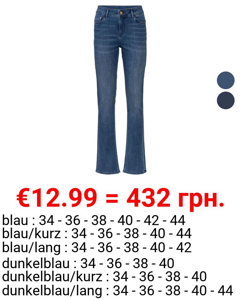 ESMARA® Jeans Damen, Straight Fit