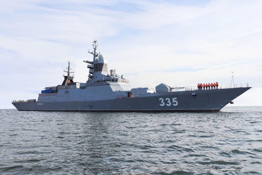 Минобороны РФ заключило контракт на строительство шести корветов для Тихоокеанского флота