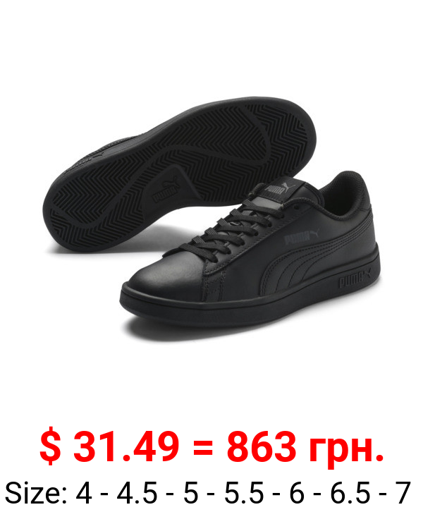 PUMA Smash v2 Leather Sneakers JR