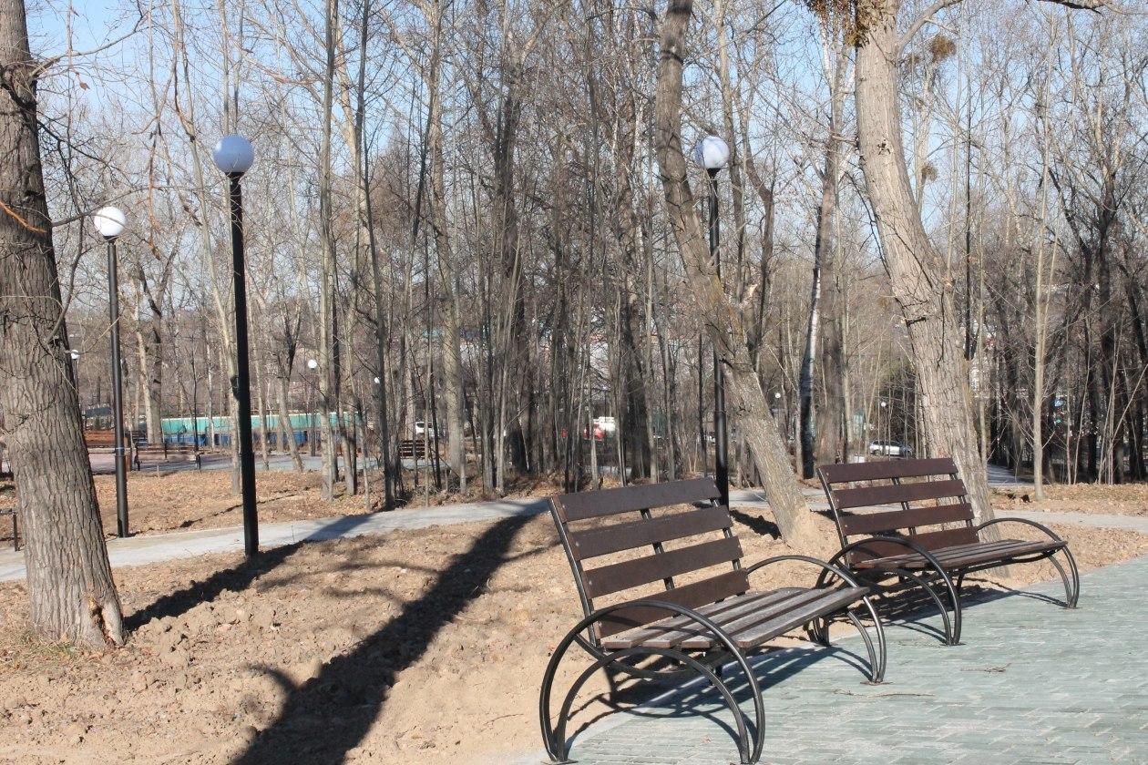 Еще 5 скверов обустроят в Хабаровске в 2021 году