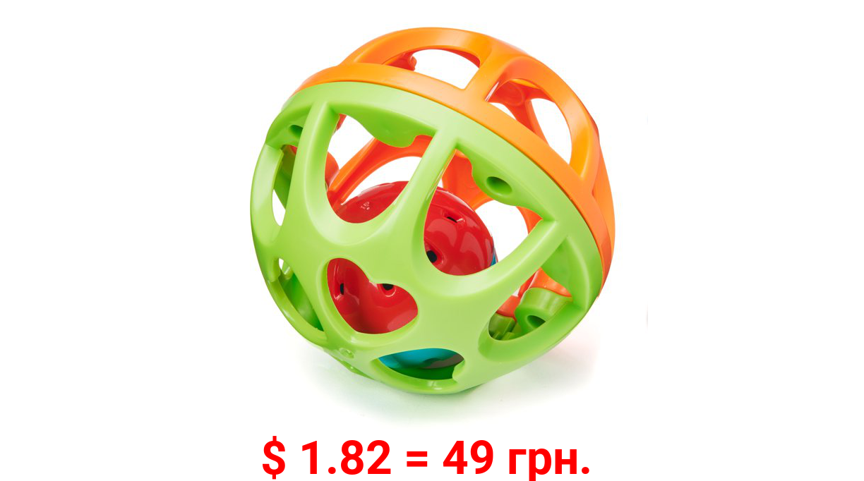 Spark. Create. Imagine. Sustainable Sensory Activity Play Ball, Assorted Colors