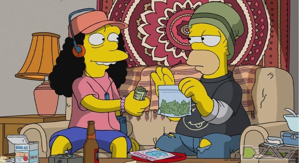 Симпсоны смотреть гомер и марихуана где лучше курить коноплю