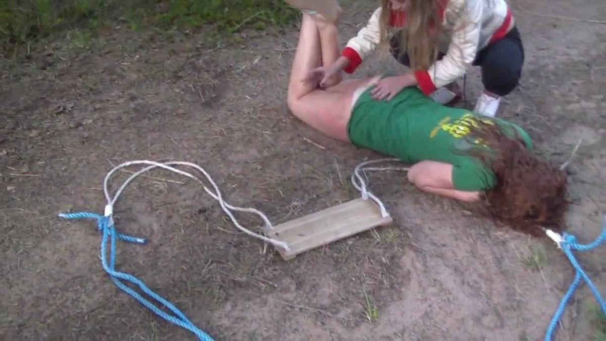 Ребенок упал с качели на Набережной Хабаровска