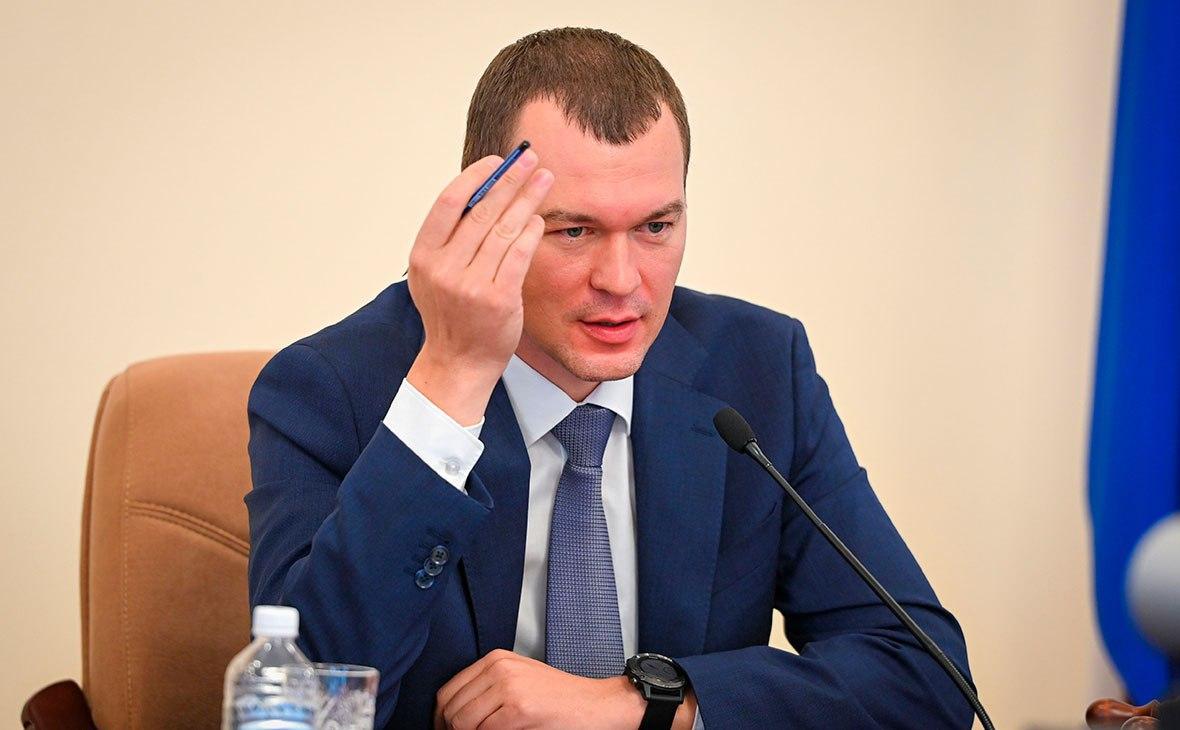 Дегтярёв пригрозил митингующим в Хабаровске