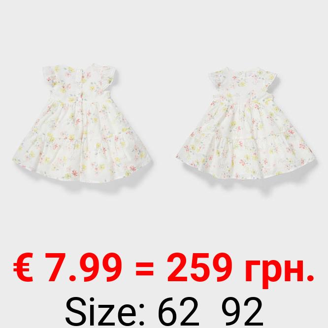 Baby-Kleid - geblümt - festlich
