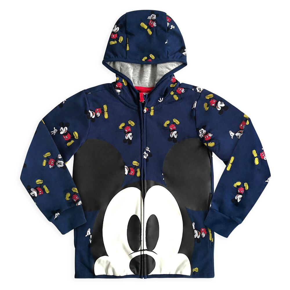 Mickey Mouse Zip Hoodie for Boys
