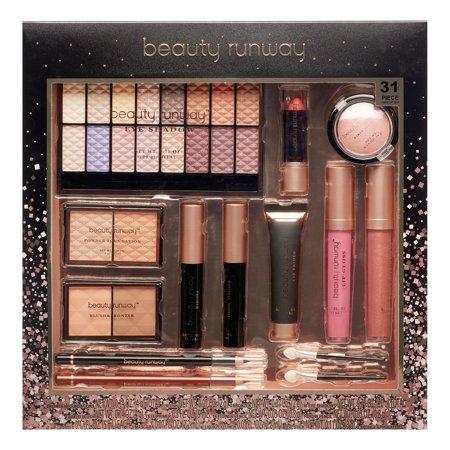 Beauty Runway 31-Piece Cosmetic Gift Set, Essentials