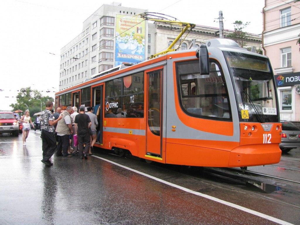 Замена трамвайных путей будет производиться в Хабаровске