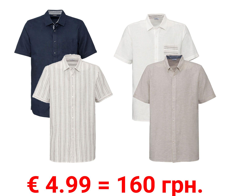 LIVERGY® Herren Hemd Regular fit