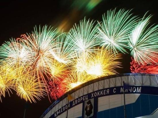 Световое шоу и праздничный салют увидят сегодня жители Хабаровска