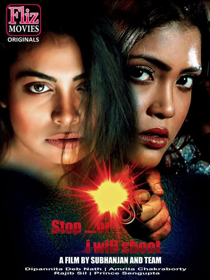 (18+) Stop Or I Will Shoot (2019) UNRATED Fliz Hindi Film 720p HEVC HDRip x265 AAC 450MB