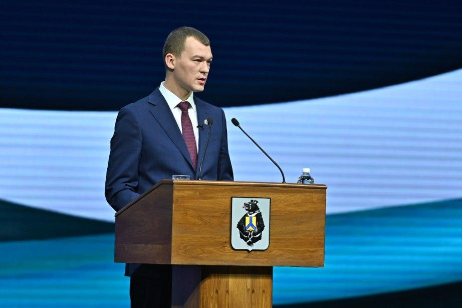 Михаил Дегтярев отчитался о работе регионального правительства