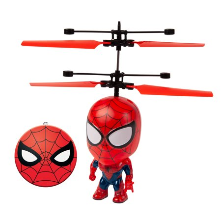 Marvel 3.5 Inch Spider-Man Flying Figure IR Helicopter