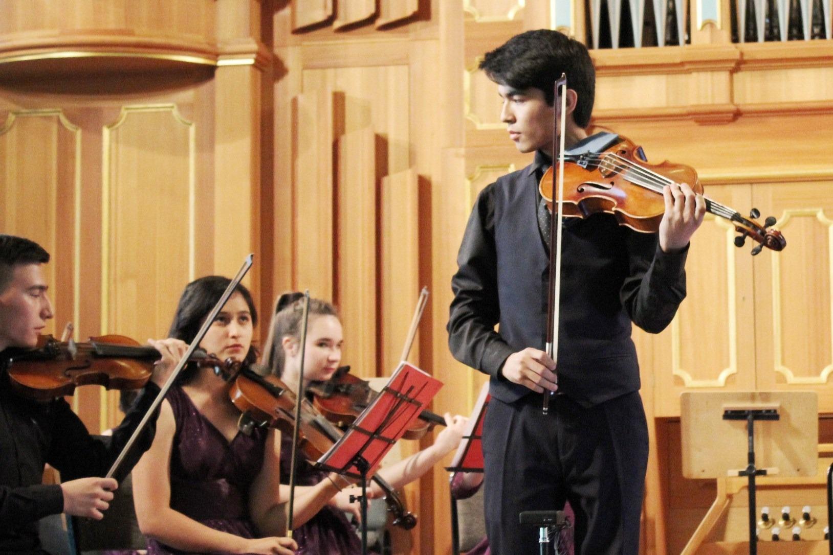 Концерт камерного оркестра «Юные дарования Узбекистана»