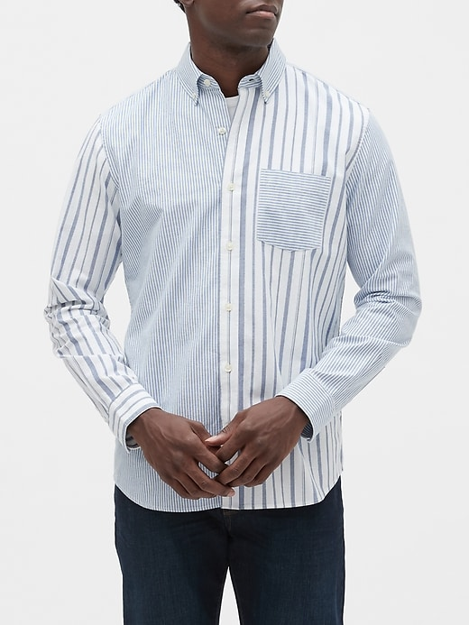 Oxford Long-Sleeve Shirt in Standard Fit
