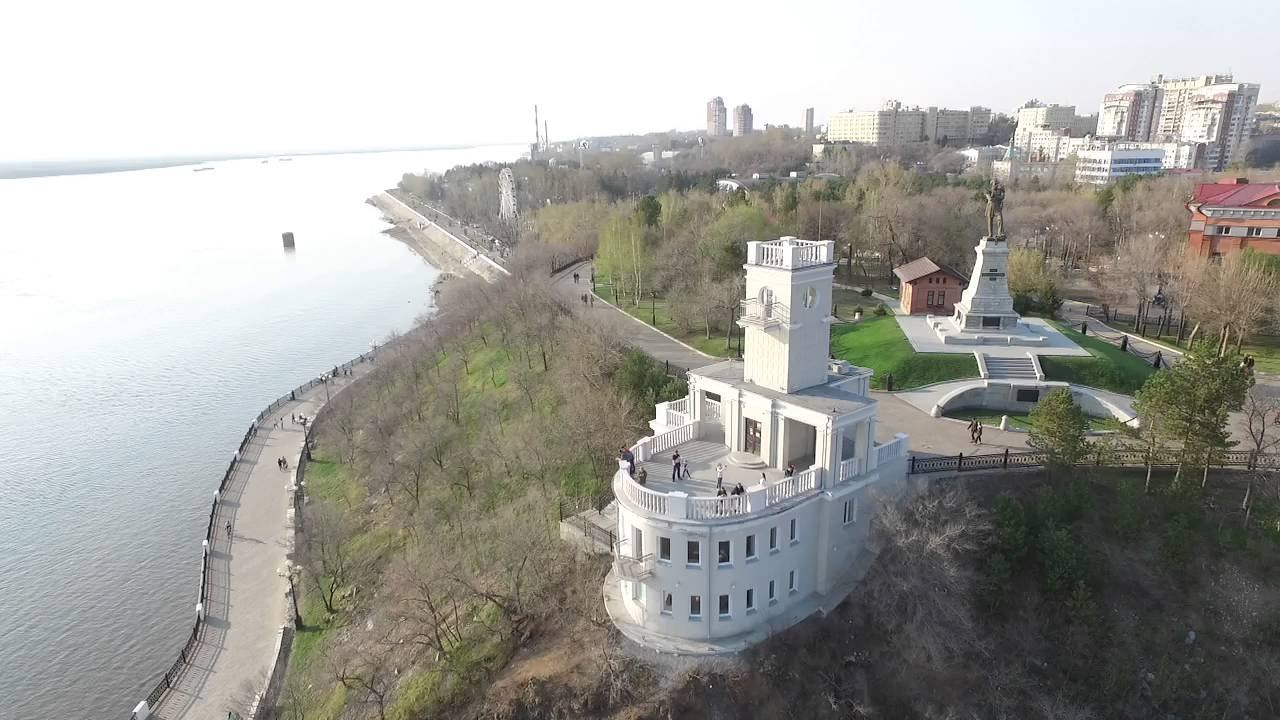 Утес в Хабаровске