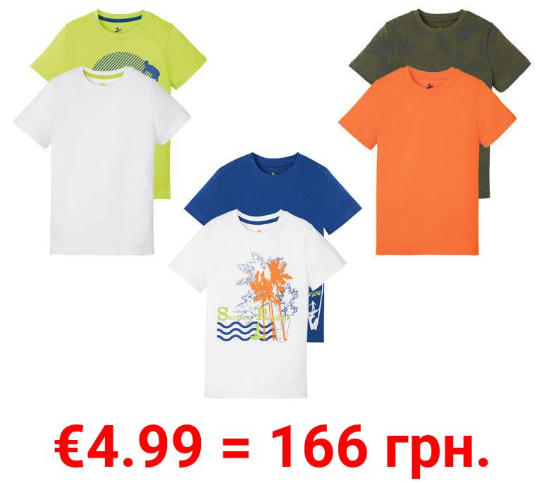 PEPPERTS® T-Shirts Jungen, 2 Stück, aus Baumwolle