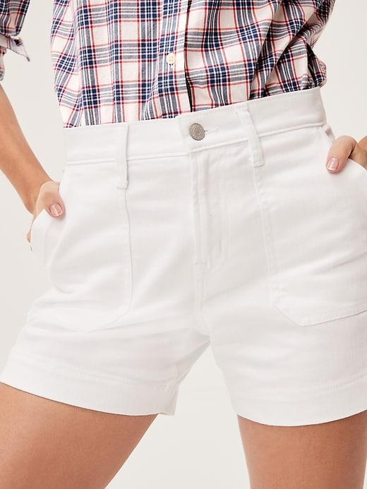 """5"""" Denim Utility Shorts"""