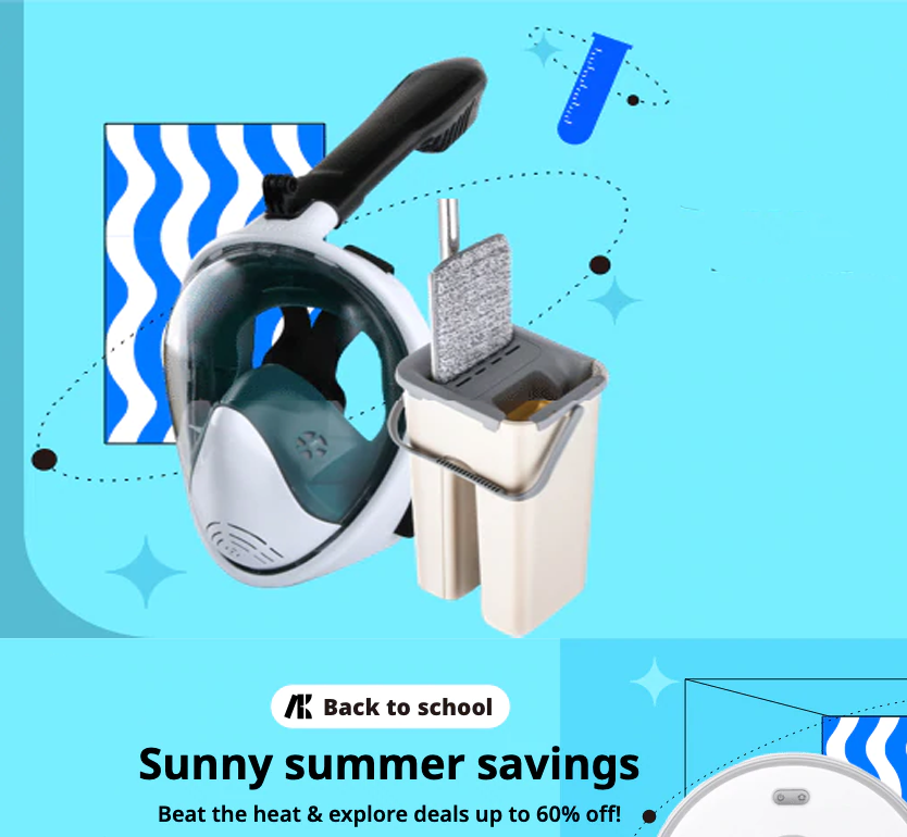 Sunny summer savings