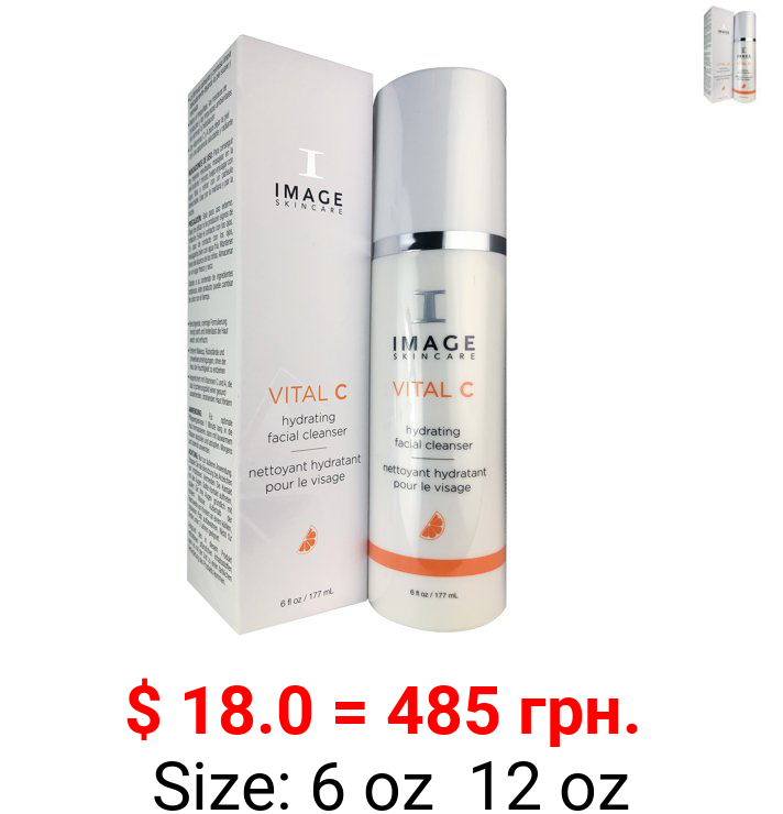 Image Skincare Vital C Hydrating Facial Cleanser 6 oz