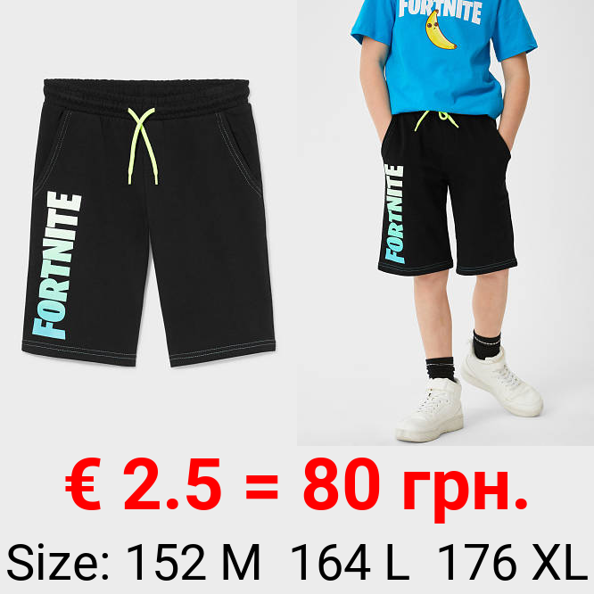 Fortnite - Sweatshorts - Bio-Baumwolle