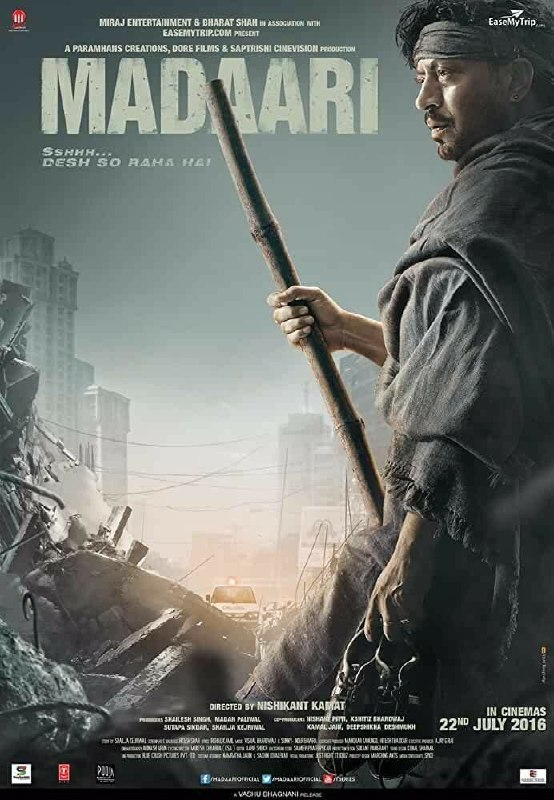 Free Download Madaari Full Movie