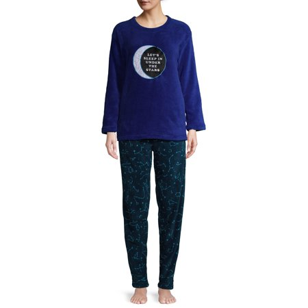 The Cozy Corner Women's Super Plush Long Sleeve Top & Pant Pajama Set