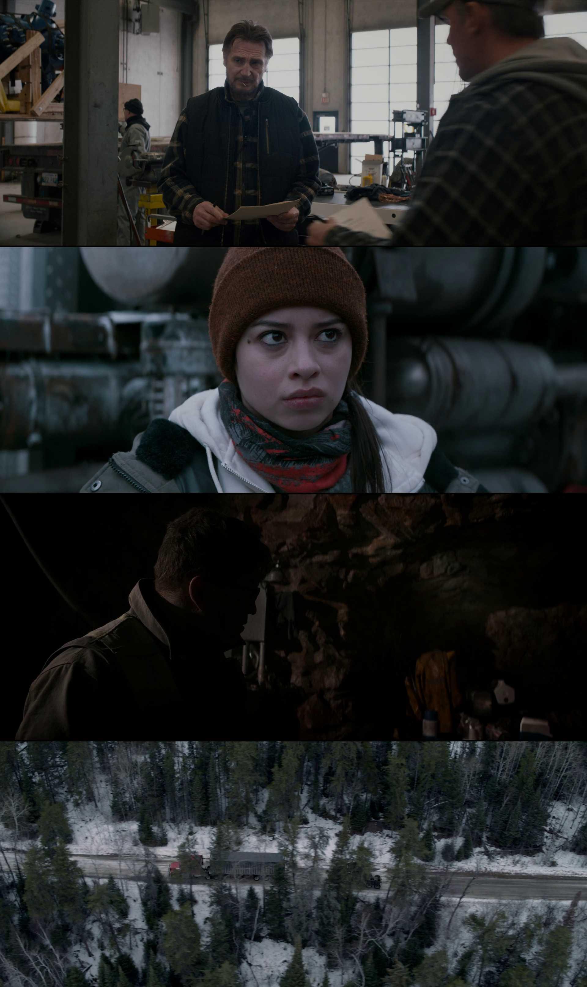 Screenshot of The Ice Road Movie