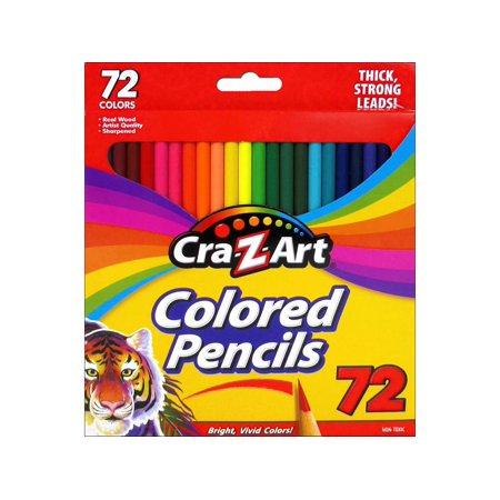 Cra-Z-Art Colored Pencils, 72 Count