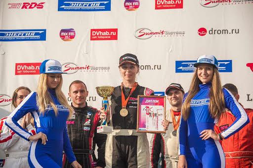 Екатерина Седых и Team Yokohama стали лидерами четвертого этапа РДС-Восток