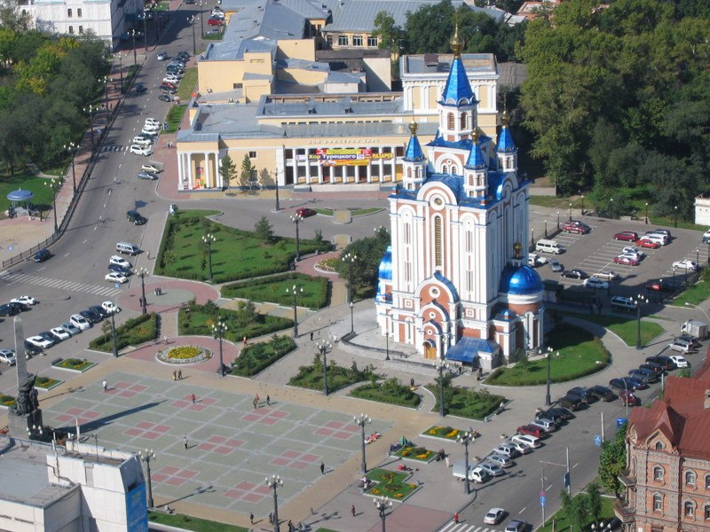 Комсомольская площадь (Хабаровск)