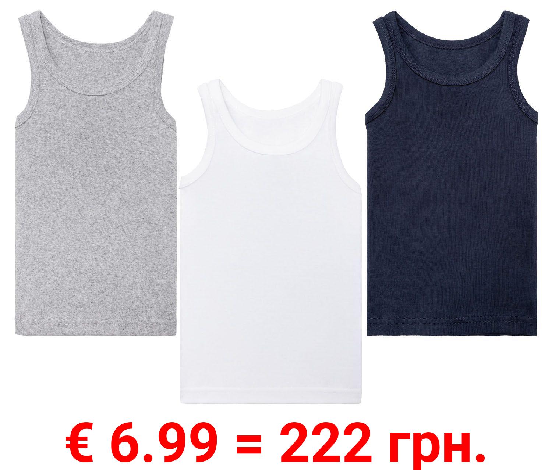 LUPILU® 3 Kleinkinder Jungen Unterhemden