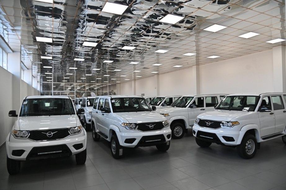 16 новых УАЗов для районных больниц доставлены в Хабаровский край