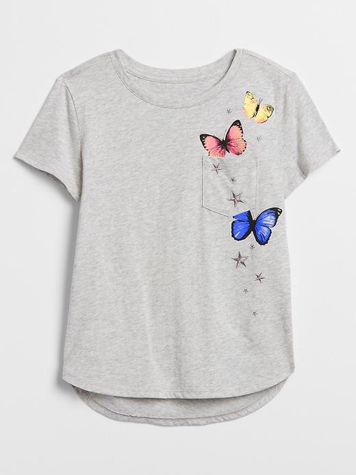 Kids Graphic Pocket T-Shirt