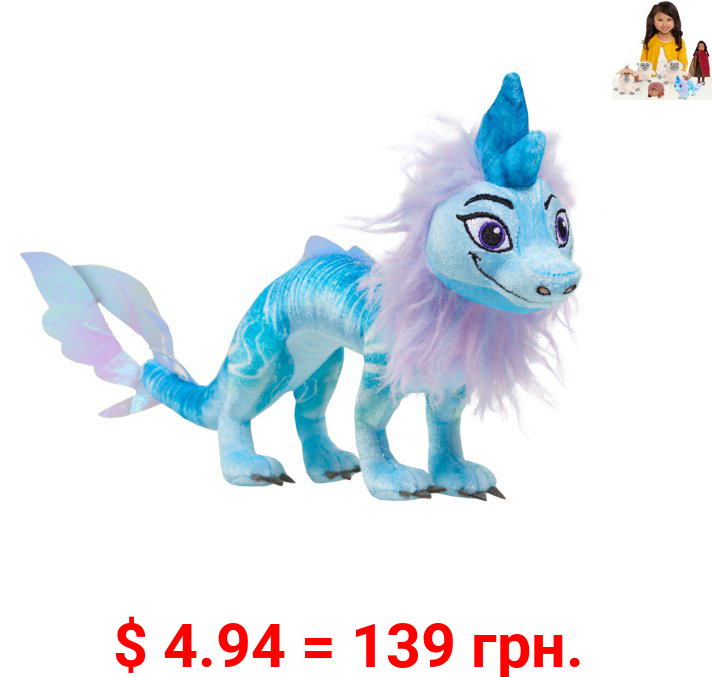 Disney Raya and the Last Dragon 13-Inch Small Sisu Plush, Dragon Stuffed Animal Toy