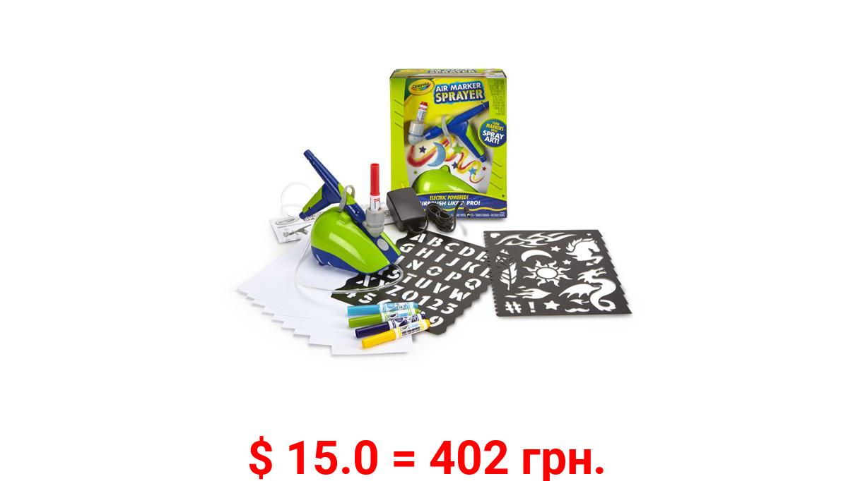 Crayola Air Marker Sprayer, Washable Markers, Beginner Child