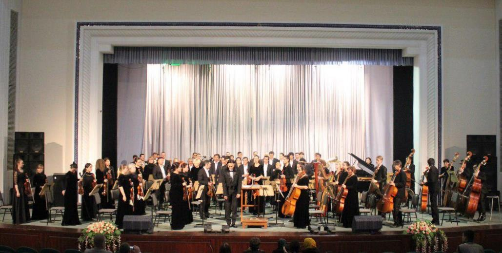 Концерт Национального Симфонического оркестра Узбекистана