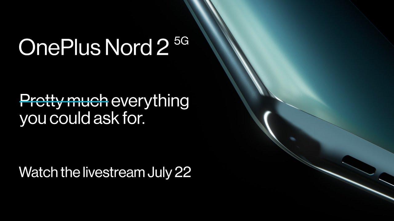 OnePlus Nord 2 5G viene presentato oggi segui la live