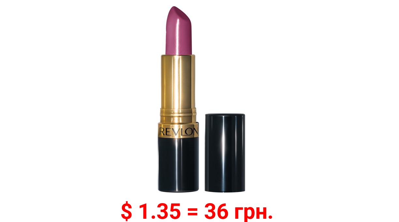Revlon Super Lustrous Moisturizing Lipstick with Vitamin E, Cream Finish in Berry, 660 Berry Haute, 0.15 oz