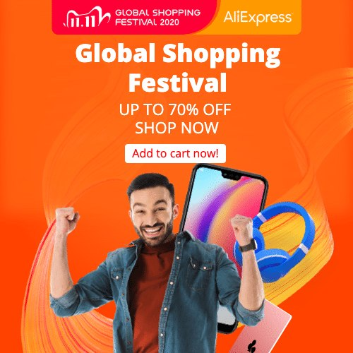 Global Shopping Festival 2020 UP TO 70% OFF SHOP NOW