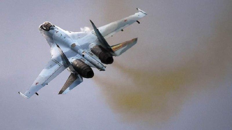 Истребитель Су-35С разбился в Хабаровском крае