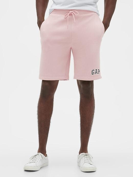 "9"" Logo Shorts in Fleece"